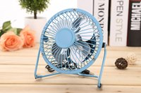 Wholesale power saving fan - Aluminum leaf Quiet Mini Table Desk Personal Fan and Portable Metal Cooling Fan for Office Home High Compatibility, Power Saving with