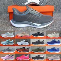 sapato de corrida preto verde venda por atacado-Nike Air Zoom Mariah Flyknit Racer Turbo shoes Verde Vermelho Preto Branco Sneakers Malha Das Mulheres Reagir ZoomX Vaporfly Pegasus 35 Mens Running Shoes Tamanho 36-45