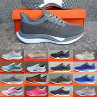 zapatillas de malla al por mayor-Nike Air Zoom Zapatillas de deporte nuevas Pegasus Turbo Verde Rojo Negro Blanco Zapatillas de malla de mujer React Vaporfly Pegasus 35 Zapatillas de running de hombre Talla
