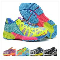 Wholesale Gel Noosa Tri Shoes - 2017 Gel Noosa TRI 8 9 IX Runningl Shoes For Men Women High Quality New Lightweight Athletic Sneakers Size 36-45