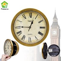 Wholesale wall clock safes for sale - Group buy Creative Hidden Secret Safe Box Wall Clock Safe Box Wall Mounted Hanging Key Cash Money Jewelry Storage Security Home Decor