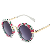 mädchen sportbrillen für kinder großhandel-Oculos Infantil De Sol Runde Kinder Polarisierte Sonnenbrille Marke Designer 2016 Kinder Sport Mädchen Jungen Goggle Baby Brille UV 400