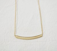 Wholesale Arc Link - Fashion arc their necklace Copper cylinder of the beautiful pendant necklaces for woemn wholesale free shipping