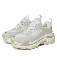 señoras corriendo zapatos de goma al por mayor-Autuspin Zapatillas de running para mujer Zapatillas de deporte de goma transpirables para damas GYM Air Mesh Zapatillas deportivas de mujer Zapatillas de deporte blancas con plataforma