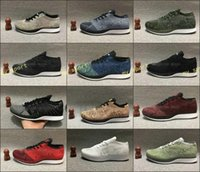 Wholesale fly leather - Free Shipping Top Quality Fly Racer Running Shoes For Women & Men, Lightweight Breathable Athletic Outdoor Sneakers Eur 36-45