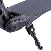 ingrosso nuove skateboard elettriche-Nuovo cavalletto in fibra di carbonio Scooter elettrico treppiede per scooter parti di scooter