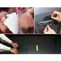 Wholesale film bumper - Rhino Skin Car Bumper Hood Paint Protection Film Vinyl PVC Clear Transparence Film Sticker