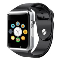 Wholesale watch phones online - A1 Smart Watch Wristband Android Watch Smart SIM Intelligent Mobile Phone Sleep State Smart Watch Cradle Design