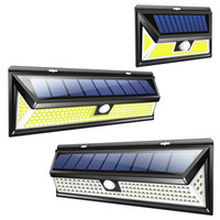 Wholesale emergency solar lighting for sale - Group buy 180COB LED Solar Wall Lamp Waterproof Wide Angle Outdoor Garden Yard Garage Emergency Security Lighting Wall Light