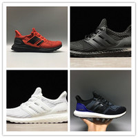 Wholesale newest casual shoes - 2018 newest ultra boost 4.0 3.0 core Triple Black white Primeknit Runner fashion ultraboost Running sports shoes men women Casual sneaker