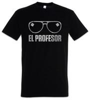 анти морщин очки оптовых-El профессор футболка деньги маска La Casa Heist de Papel дали Tokio очки 2018 Мода футболка 100% хлопок футболка