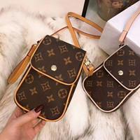 мобильные телефоны оптовых-2018 нано кожаные сумки на ремне сумки мобильный телефон сумка маленькая сумка Сумка с коробкой HFLSBB071