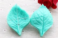 Wholesale Silicone Leaf Mold - NEW Fondant Cake Decorating Tools Flower Making Peony Floral Petal Leaf Veiner Silicone Mold Kitchen Accessories