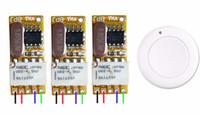 interruptor remoto inalámbrico de 9v al por mayor-Interruptor de control remoto inalámbrico DC 3.5v 3.7v 4.5v 5v 6v 7.4v 8.4v 9v 12v Micro Radio Controlled Switch Relay Transmitter