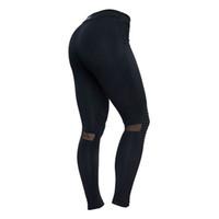 682ea9ec269 Novo 2019 Cintura Alta Caber Leggings Mulheres Sexy Hip Push Up Legging  Malha Inserir Casual Work Out Calças de Verão Outono Skinny
