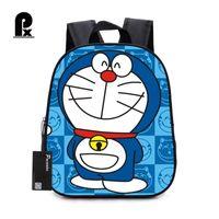 ingrosso zaini personali per ragazzi-Bambini Doraemon Cartoon Schoolbags Lovely Carattere Zaino scuola per ragazzi e ragazze Scuola ortopedica Zaini Ragazzi