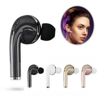 Wholesale Bluetooth V1 - Mini Wireless Headphones V1 V4.1 Bluetooth Earphone Sports Headset Ear-Hook Earpiece With Mic For iPhone Samsung Xiaomi