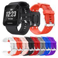 Wholesale garmin black - Silicone Strap For Garmin Forerunner 35 smart Watch band Replaceable Watchband Wrist strap Wristband