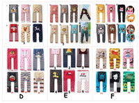 Wholesale Busha Tights - Free Shiping 18pcs lot Popular Baby Pants(36 colors choose) Baby Girls Boys Leggings Busha PP Pants Wear Children's Leggings & Tights BY0109