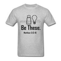 christian t shirts xl achat en gros de-Pop Be ces sel et lumière Christian Matthew 513-16 T-shirt Kpop T-shirt Hommes Coton Crewneck 3XL manches courtes T-shirts