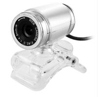 Wholesale 12 webcam resale online - A860 Clip on Degree USB Megapixel HD Webcam Web Camera with Microphone to the Computer for Desktop Laptop Notebook