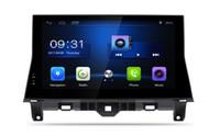 auto dvd spieler gps bluetooth tv großhandel-Auto-DVD-Stereo-Player GPS-Navigation Android 6.0 Radio HD-Touchscreen / Bluetooth / 1080P für Honda Accord 2008-2013