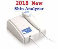 Wholesale Mp Ccd - 2018 Newest 8.0 MP High Resolution Digital CCD USB Multifunction UV Skin Analyzer Skin Camera Skinscope Skin Diagnosis DHL Free