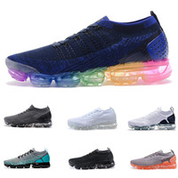 Wholesale fly women - Vapormax Fly 2.0 II Mens Designer Shoes Men Running Trainers Women Luxury Brand Sneakers sports