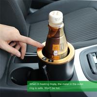 elektrisch beheizte tasse großhandel-DC 12 V Auto Cup Cooler / Warmer Auto Elektrische Getränkehalter Kühlung Getränkedosen Heizung Kaffee In Minuten für SUV RV