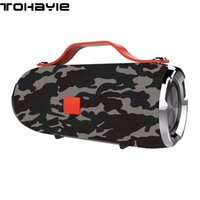 Wholesale Portable Wireless System - ToHayie X19 Bluetooth Speaker Portable Wireless Speaker Sound System 3D Stereo Loudspeaker Subwoofer Bass Build-in Microphone