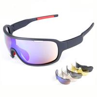 gözlük açık hava güneş gözlüğü gözlük bisiklet toptan satış-Bisiklet Gözlük Polarize Bisiklet Güneş Gözlükleri Açık Spor Bisiklet clismo Yol Bisikleti MTB Güneş Gözlüğü TR90 Gözlük Gözlük 5 Lens