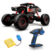 Wholesale 4wd drift cars resale online - 1 WD remote control vehicle high speed drift off road vehicle model climbing big car