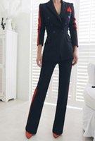 kore bayanlar kıyafetleri toptan satış-Ofis lady kore versiyonu sonbahar ve kış yeni takım elbise ceket + moda pantolon iki parça