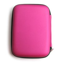 Wholesale Carrying Case External Hard Drive - HDD Box Hard Carry Case Cover Pouch for 2.5 inch USB External WD HDD Hard Disk Drive Protect Protector Bag Enclosure Power Bank Storage