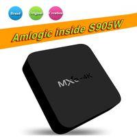 Wholesale iptv arabic 4k resale online - Hot OEM Best MXQ Pro K Android TV Box Amlogic S905W Android With custom Support arabic iptv stream better X96 T95M T95X X96
