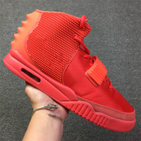 cbef0a73a1384 Wholesale red octobers online - Air SP Red October Basketball Shoes Kanye  West With Dust Bag