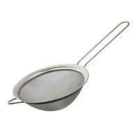 passoire fine achat en gros de-Tamis à farine en acier inoxydable avec passoire et passoire à thé, passoire à thé, outils de cuisine ZA6746