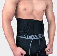 Wholesale waist supports resale online - Professional Sports Belts Waist Protector Men Training Weightlifting Fitness Belts Abdomen Beam Protectors Support FBA Drop Shipping H727F