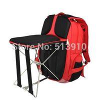 yüksek sandalye toptan satış-Playking Balıkçılık sandalye açık taşınabilir katlanır tabure sırt çantası / Yüksek kalite taşınabilir açık katlanır balıkçılık sandalye sırt çantası