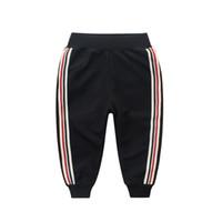Wholesale Harem Trousers For Kids - 2018 Casual Boys Harem Pants Top Quality Cotton Cartoon Baby Trousers For Pantalon Enfant Clothes Elastic Waist Kids