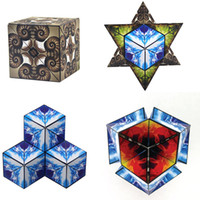 Wholesale magnetic magic cubes - Euclidean Cube Magnetic Transforming Geometric Cubes with 36PCS N38 Magnets Magic Cube Nautilus 0612B Educational Building Toys for Kids