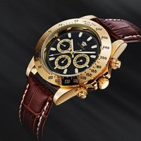 ручной ранец погружения смотреть оптовых-2016 OUYAWEI  Man mechanical hand wind Watches Leather Strap 30M dive Sport  male black wristwatch relogio masculino