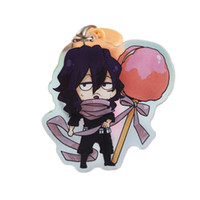 Wholesale My Hero Academi Keychain Lovely Cartoon Anime New Boku No Hero Academia Acrylic Key Ring Charms Gift