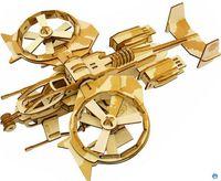 erwachsene spielzeug für junge großhandel-Blöcke Kinder Holz Flugzeug 3d Puzzle Spielzeug Junge Intellektuelle Handgemachtes Modell Erwachsene Bausteine Zusammengesetztes Spielzeug