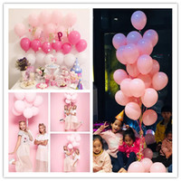 Wholesale arcade lights - 2.2g thickened matt round balloon LaTeX Arcade ornament birthday party wedding decoration balloon