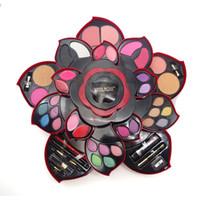 errado maquiagem profissional venda por atacado-Senhorita Rose maquiagem profissional definir o Ultimate Colour Colecção Makeup Box Colecção Party Wear para o artista MS002