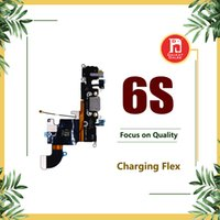 Wholesale charge connector iphone resale online - Charging Port Flex For iPhone S inch Charger Data USB Dock Connector with Headphone Audio Jack Mic Antenna Antena wifi Cable
