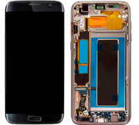 Wholesale Cell Phone Replacement Screen - LCD Screen Display for Samsung Galaxy S7 Edge G935 G935A G935D G935F Touch Screen Digitizer Assembly Replacement Cell Phone Touch Panels