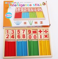 Wholesale drawing toys - Puzzle educational pine drawing board learning box Nurse brain computing arithmetic arithmetic toy