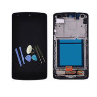 "Wholesale nexus lcd screen - No Dead Pixel 1920*1080 New 4.95"" For LG Nexus 5 LCD Display Screen Touch Digitizer Panel Assembly Replacement + Tools"